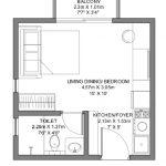 Godrej Ananda Bagalur KIADB Aerospace Park Studio Type A Floorplan