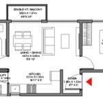 Godrej Ananda Bagalur KIADB Aerospace Park 2BHK Floorplan 8