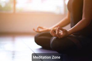 Godrej Ananda Amenities Meditation Zone with Soothing music _ KIADB Aerospace Park Bagalur